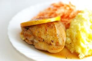 Курица с грейпфрутом - фото шаг 8