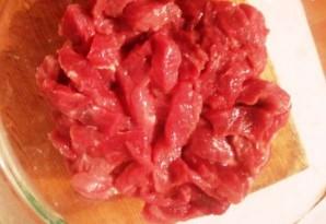 Говядина в соевом соусе - фото шаг 1
