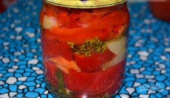 Салат из сладкого перца на зиму - фото шаг 5