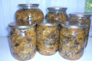 Вкусная капуста с грибами на зиму - фото шаг 11