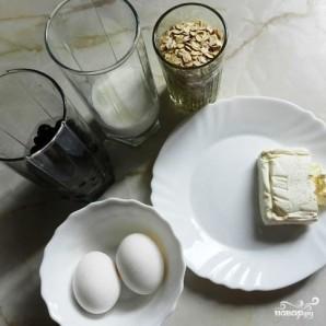 Овсяные оладьи с черной смородиной - фото шаг 1