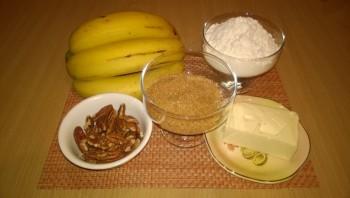 Банановый пай - фото шаг 1