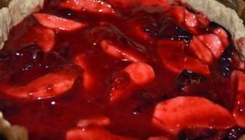 Сливово-яблочный пирог - фото шаг 3