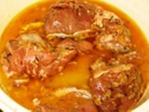 Мясо дикой козы в пряном маринаде - фото шаг 5