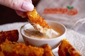 Деревенский картофель под сырным соусом - фото шаг 6