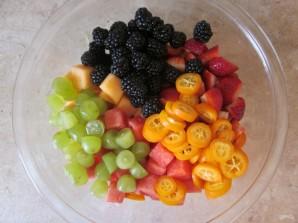Вкусный фруктовый салат - фото шаг 7