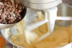 Кокосовое печенье с шоколадом - фото шаг 4