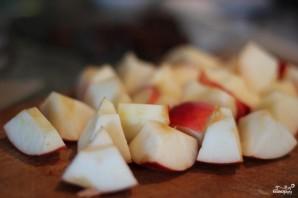 Яблоки с рисом - фото шаг 2