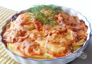 Картофельная запеканка с помидорами и сыром - фото шаг 6