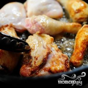 Курица с оливками - фото шаг 8