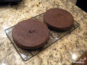 Шоколадный торт Черная вуаль - фото шаг 3