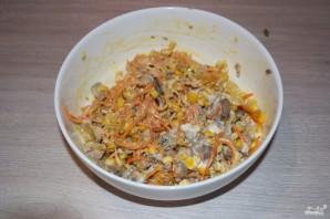 Салат из куриной печени - фото шаг 6