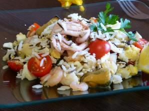 Салат из морепродуктов Для любимого - фото шаг 5