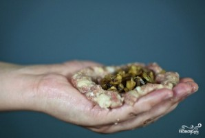 Зразы мясные с грибами - фото шаг 9