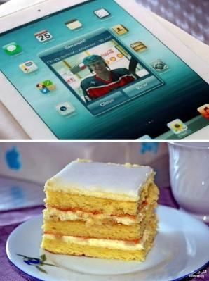 """Торт """"Планшет"""" - фото шаг 9"""