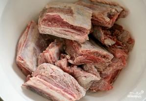 Свиные ребрышки жареные - фото шаг 1