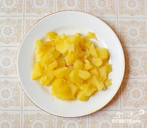 Салат с курицей и дайконом - фото шаг 4