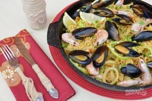 Паэлья из морепродуктов - фото шаг 11