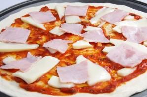Пицца в духовке (тесто как в пиццерии) - фото шаг 4