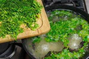 Рис с зеленью - фото шаг 2