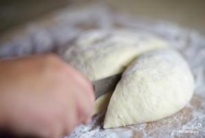Быстрое тесто для пирожков с любой начинкой - фото шаг 7
