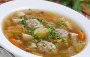 Суп с мясом в мультиварке - фото шаг 10