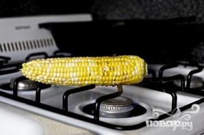 Такос с кукурузой, редисом и цуккини - фото шаг 2