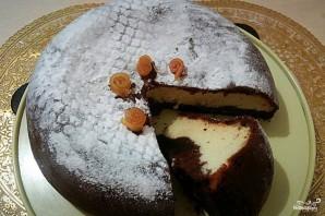 Шоколадно-творожный пирог в мультиварке - фото шаг 6