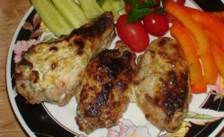 Крылышки в духовке в чесночном соусе - фото шаг 6