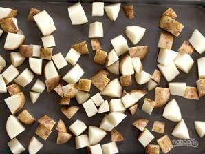 Запеченная картошечка с пармезаном - фото шаг 1