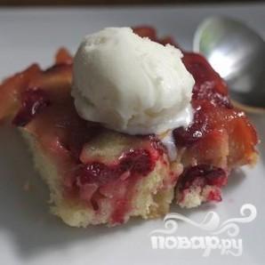 Клюквенно-яблочный пирог - фото шаг 7