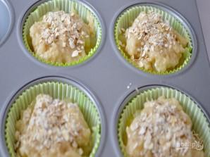 Веганские кексы с яблоками - фото шаг 4