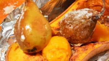 Простой десерт из запеченной тыквы - фото шаг 5