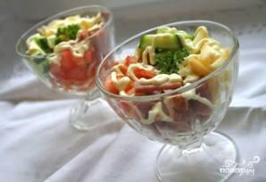 Салат с яблоками и ветчиной - фото шаг 6