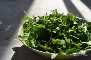 Салат из рукколы с кедровыми орешками - фото шаг 3