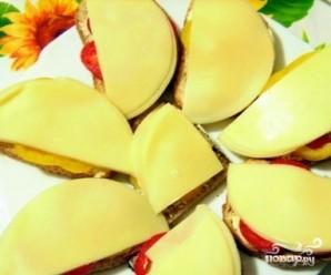 Бутерброды с болгарским перцем - фото шаг 3