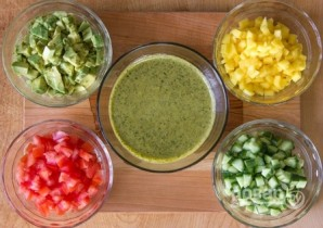 Салат из лангустов - фото шаг 10