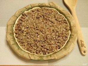 Пирог с гречкой и печенью - фото шаг 5