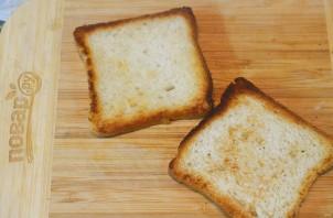 Бутерброд с беконом - фото шаг 1