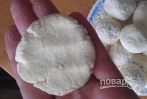Сырники творожные с манкой - фото шаг 3