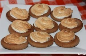 Песочное печенье с безе - фото шаг 5