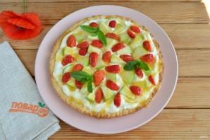 Яблочная пицца с карамелью - фото шаг 11