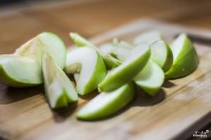 Яблочный салат - фото шаг 1
