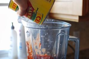 Суп с овощами и ячменем - фото шаг 8