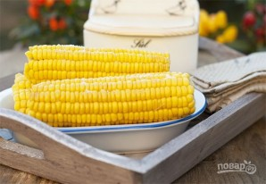 Вареная кукуруза - фото шаг 3