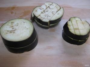 Пенне с баклажановым соусом - фото шаг 1