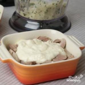 Цыпленок под сырным соусом - фото шаг 3