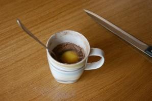 Шоколадный кекс за 5 минут - фото шаг 5