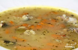 Суп из сайры - фото шаг 4