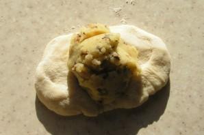 Пирожки на кефире без яиц - фото шаг 7